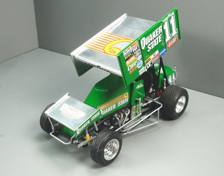 Quaker State Sprint Car QS034f-vi