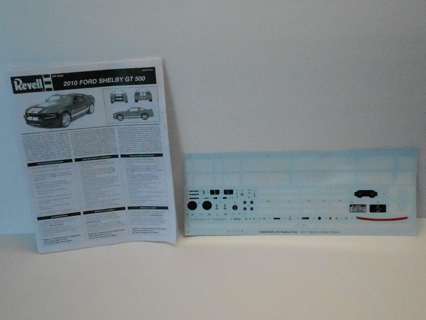 2010 SHELBY GT-500 REVELL 1:12 DSCN0114-vi