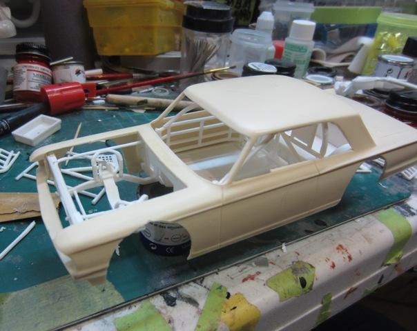 1963 Ford Fairlane LMS, SHOP REPORT 27/03/2013 003-vi