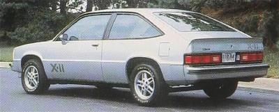 citation 1981 Chevroletcitation6-vi