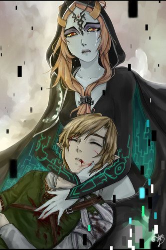 Astro fiction..  Midna-and-Link-the-legend-of-zelda-33803047-333-500