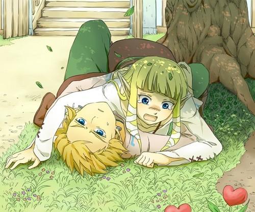 Astro fiction..  Link-x-Zelda-zelink-34015396-500-417