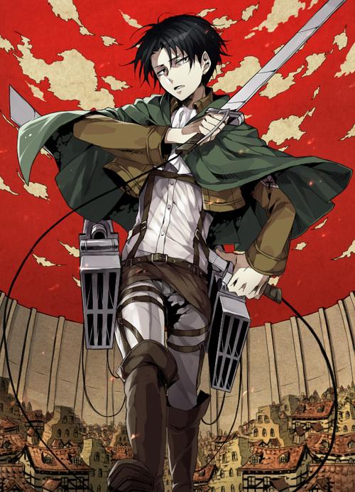 Le garçon le plus classe de tout les mangas  - Page 2 Rivaille-shingeki-no-kyojin-attack-on-titan-35255634-500-692