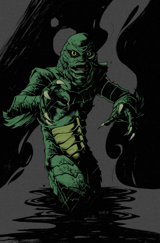 Irish Mystery [Silver Banshee] Creature-from-the-Black-Lagoon-monster-movies-37214768-529-800