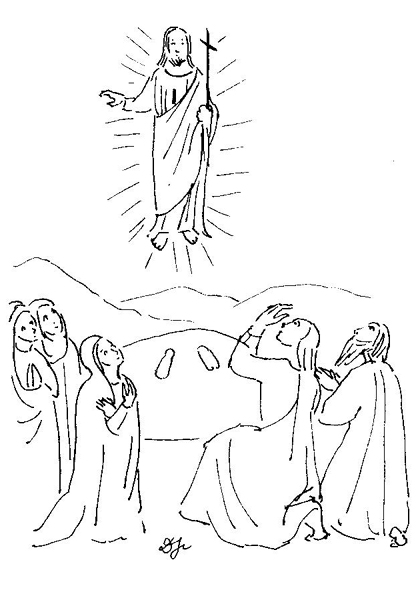 La Pâque : L'offrande en sacrifice Ascension