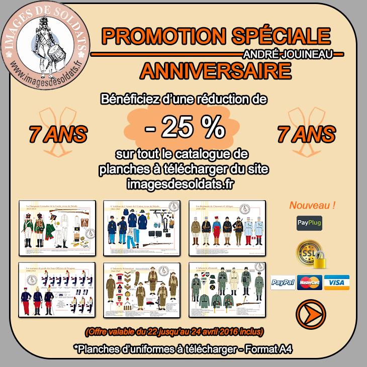 PROMOTION SPECIALE ANNIVERSAIRE -25% Promotion-anniversaire