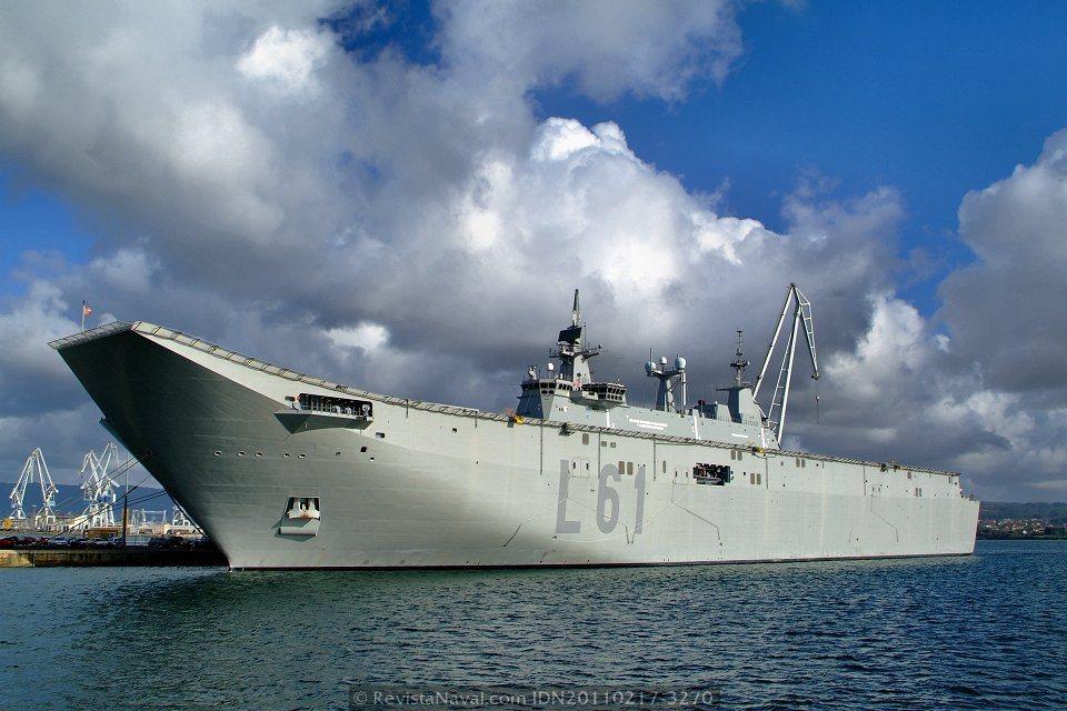 Navantia: LHD 'Juan Carlos I'  20110217-3270