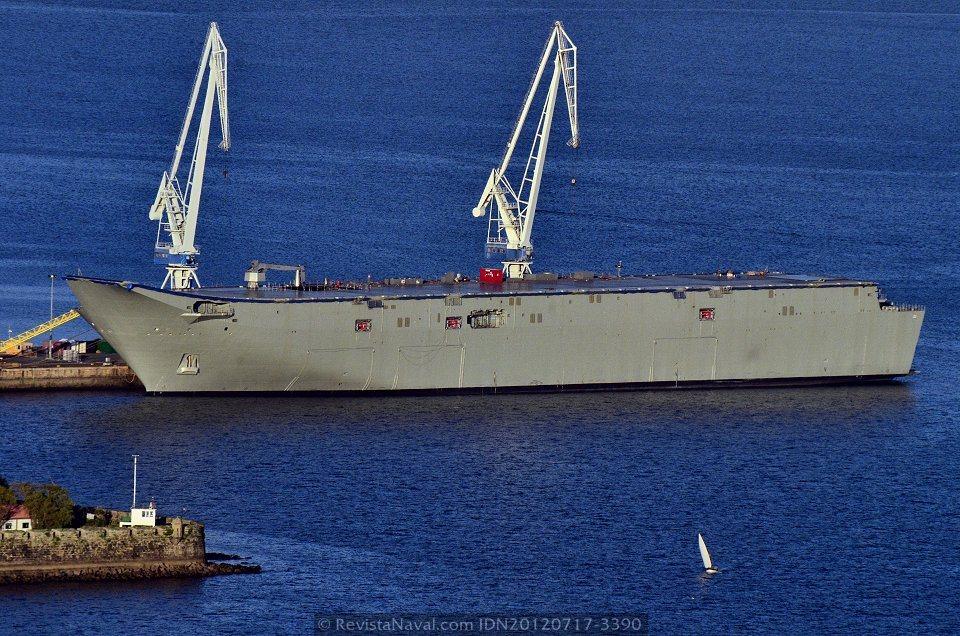 Navantia: LHD 'Juan Carlos I'  20120717-3390