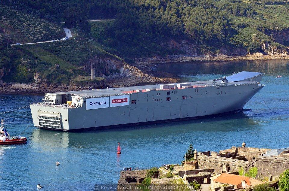 Navantia: LHD 'Juan Carlos I'  20120803-5490