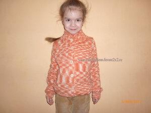 Кофточки и свитера для девочек - Страница 2 0_7fecf_c48cbe43_M