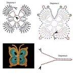 Ромашки, маки, листочки, бабочки, стрекозы... 0_7207c_524ae167_S