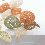 Ромашки, маки, листочки, бабочки, стрекозы... 0_720a6_ffe8a384_S