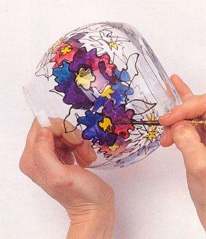ваза с витражной росписью 0_404e7_170891d1_L