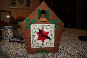 Новогодний домик-часы от Bucilla 0_82f4a_9902f29d_M