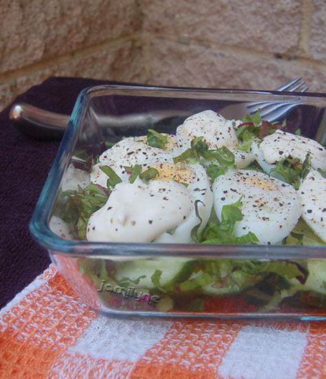 Салат из огурцов и яиц под сметаной и зеленью 0_65974_28301df1_XL