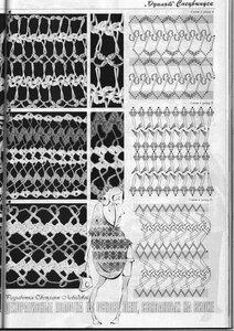 Вязание на вилке. С чего начинать, приспособления и узоры. 0_4b597_8d950330_M