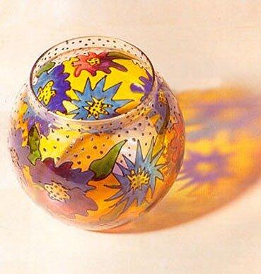 ваза с витражной росписью 0_4053f_437807ff_L