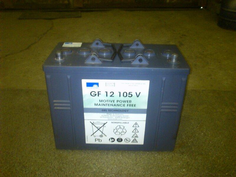 Продам тяговые гелевые  аккумуляторы б/у. 0_be116_5a86727b_XL