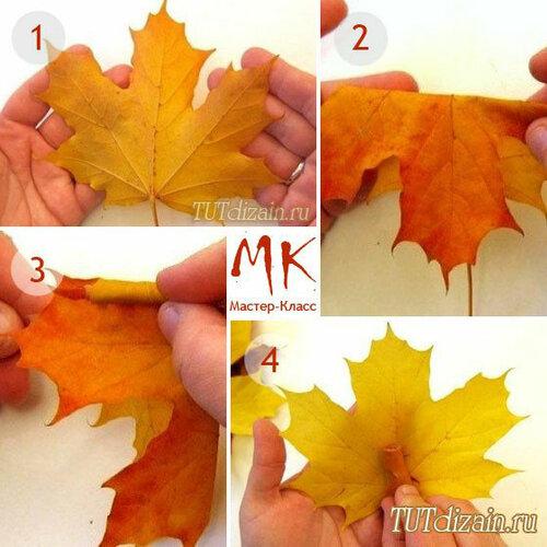 [МАСТЕР КЛАСС]Осенний букет из кленовых листьев своими руками 0_c5d82_5ef9e006_L