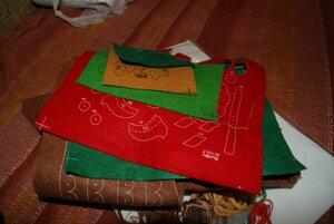 Новогодний домик-часы от Bucilla 0_82f4d_ef757c3e_M