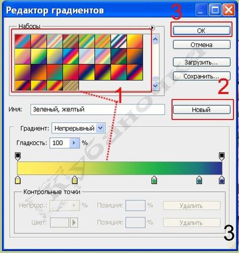 Градиент в программе Фотошоп 0_58009_ef4b7427_L