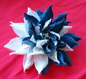 Цветы из джинсовой ткани - Страница 2 0_a1130_ed6d148b_M