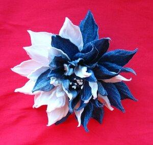 Цветы из джинсовой ткани - Страница 2 0_a112f_e944d932_M