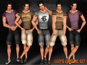 Повседневная одежда (комплекты с брюками, шортами)   - Страница 3 0_a200b_c43c3e80_M