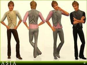 Повседневная одежда (комплекты с брюками, шортами)   - Страница 2 0_a2002_68fa90ed_M