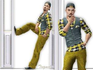 Повседневная одежда (комплекты с брюками, шортами)   - Страница 3 0_a200a_a4b31fa6_M