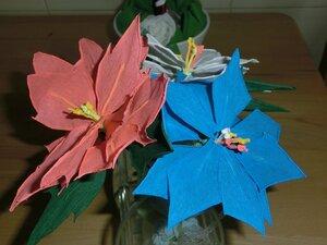 Мастер-классы по изготовлению цветов из бумаги 0_d551a_32b84088_M
