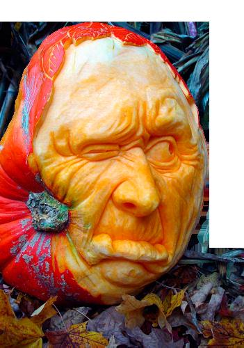 """""""Посадил дед репку... А выросла тыква... """" Аксессуары Хеллоуина: тыквы и не только. 0_9056c_67250261_L"""