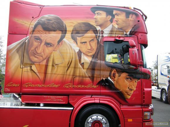 Camion Les grandes gueules 841694