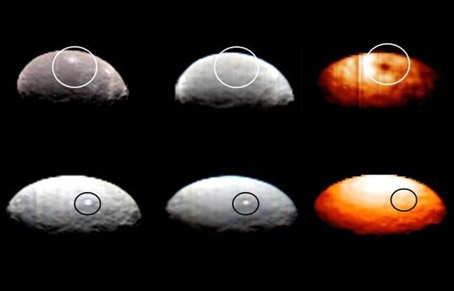 Dawn - Mission autour de Cérès - Page 12 648x415_images-infrarouges-point-brillant-spot-1-ligne-dessus-laisse-tache-sombre-tandis-spot-5-invisible