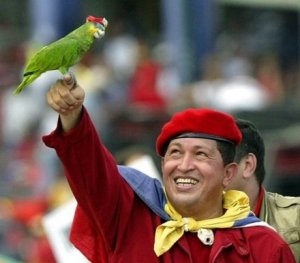 Fernando Lugo - l'Amérique latine Chavez-perroquet-2002-02508