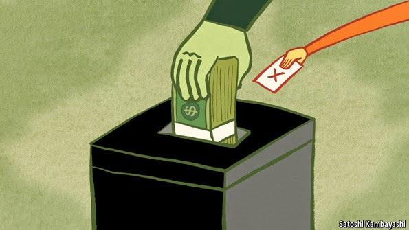 Le Dollar : L'essence même des problèmes de BNP Paribas... Argentcratie-vs-democratie-fedad