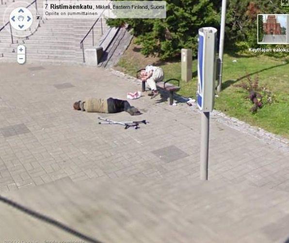 Kuriózne zábery na Google Street View  Google_street_view_bezdaci_4