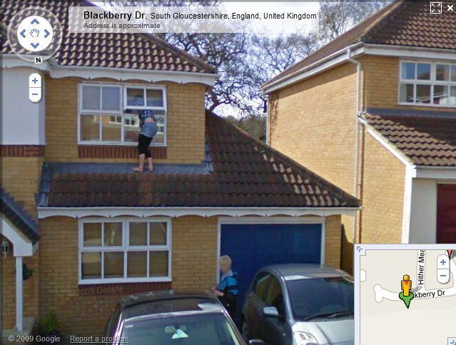 Kuriózne zábery na Google Street View  Google_street_view_zena_4