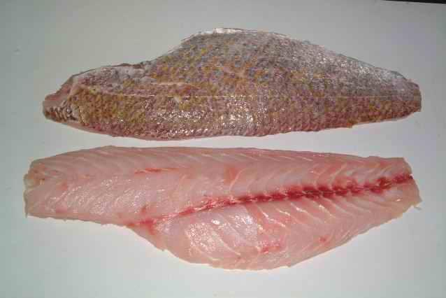 42 tipos de carnes de filete de pescados clase gourmet en imágenes Red_Snapper_Fillet
