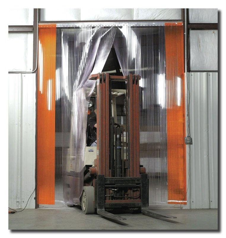Eclairage atelier PVC_Industrial_Door_Curtain