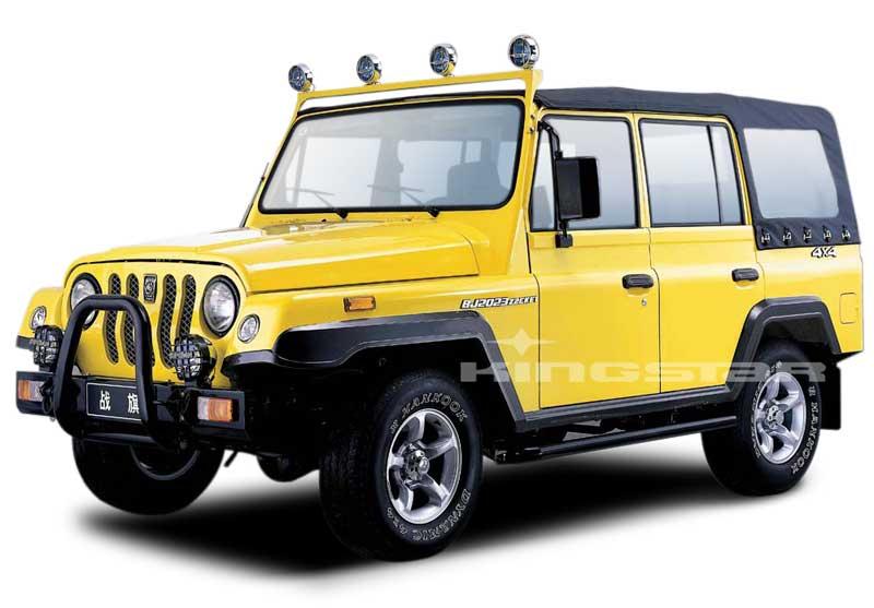 VEHICULOS 4 x 4 DE USO CIVIL. BAW_Zhanqi_4WD_SUV