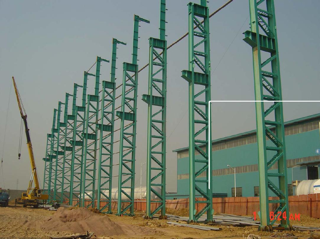 مقاول انشاءات معدنيه جمالون وصاج ودهانات جمالون Steel_construction