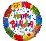 Feliz cumple Stephanos Birthday_Streamers_MYLAR_BALLOONS