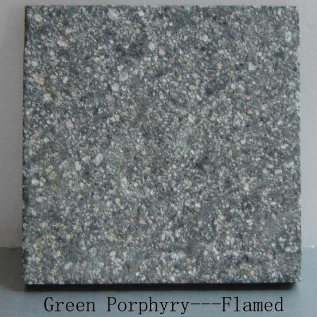 Roches & Pierres Green_Porphyry_Flamed_Green_Porphyry_Flamed_Grey_Porphyry