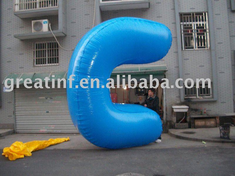 2012: OVNI sur BUSAN (Corée du sud) _C_Shap_Blue_Color_Helium_Balloon