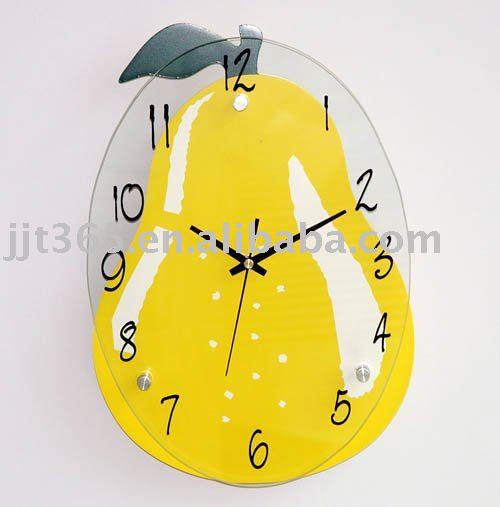 ساعات للمطابخ Kitchen_fruit_wall_clock
