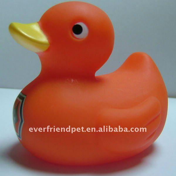 Hoy estoy triste....... Orange_floating_bath_duck_gift