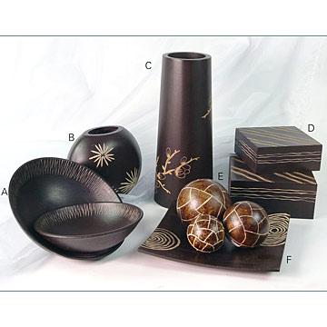 اكسسوارات للمنزل تحفة Wooden_Carved_Home_Decoration
