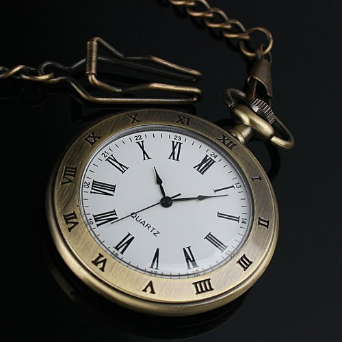 FIRMA DE REGALO... ¡HAPPY BIRTHDAY TERRY!.... ENTREGANDO FIRMAS!! WP077_New_Men_Copper_Stainless_Steel_Case_White_Dial_Roman_Numbers_Antique_Pocket_Watch_with_Chain
