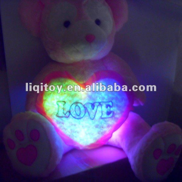 Las cositas estas llamadas LEDs Stuffed_plush_teddy_bear_LED_teddy_bear